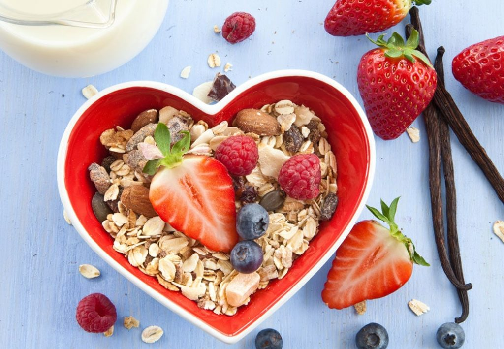 Love Your Heart. Eat Heart-Healthy Foods.